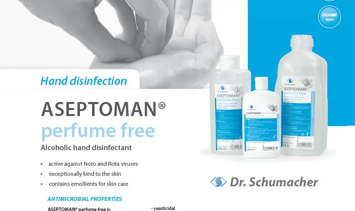 Aseptoman Perfume Free